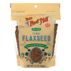 BOB'S RED MILL ORGANIC BROWN FLAXSEED 13 OZ POUCH