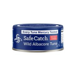 SAFE CATCH WILD ALBACORE TUNA NO SALT ADDED 5 OZ CAN