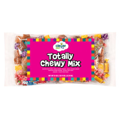 CLEVER CANDY TOTALLY CHEWY MIX 25 OZ BAG