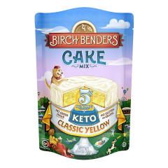 BIRCH BENDERS KETO CLASSIC YELLOW CAKE MIX 10.9 OZ POUCH