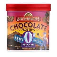 BIRCH BENDERS KETO CHOCOLATE FROSTING 10 OZ TUB