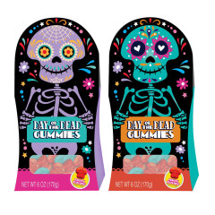 DAY OF THE DEAD GUMMY 6 OZ BOXES
