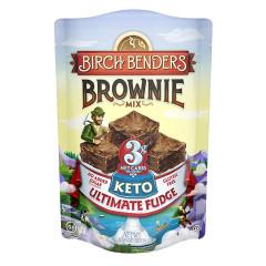 BIRCH BENDERS KETO ULTIMATE FUDGE BROWNIE MIX 10.8 OZ POUCH
