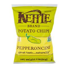 KETTLE PEPPERONCINI CHIPS 2 OZ BAG