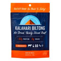 KALAHARI BILTONG ORIGINAL BEEF 2 OZ POUCH
