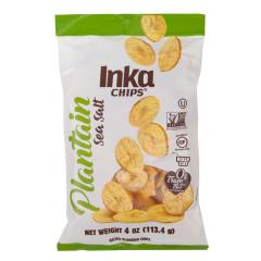 INKA ORIGINAL PLANTAIN CHIPS 4 OZ POUCH