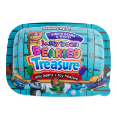 BEARIED TREASURE CHEST WITH JELLY BEANS & TOY