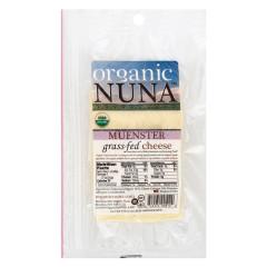 ORGANIC NUNA PRE-SLICED MUENSTER CHEESE 5 OZ PACK