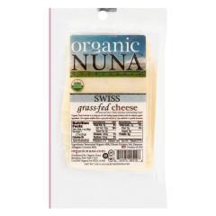 ORGANIC NUNA PRE-SLICED SWISS CHEESE 5 OZ PACK