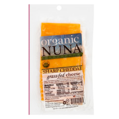 ORGANIC NUNA PRE-SLICED SHARP CHEDDAR CHEESE 5 OZ PACK