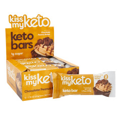 KISS MY KETO CHOCOLATE PEANUT BUTTER 1.76 OZ BAR