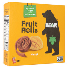 BEAR REAL FRUIT YOYOS MANGO 3.5 OZ BOX