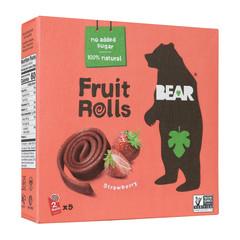 BEAR REAL FRUIT YOYOS STRAWBERRY 3.5 OZ BOX