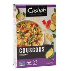 CASBAH ORIGINAL COUSCOUS 7 OZ BOX