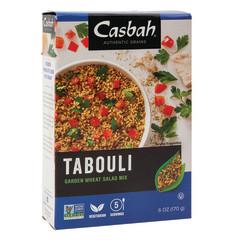 CASBAH TABOULI GARDEN WHEAT SALAD MIX 6 OZ BOX