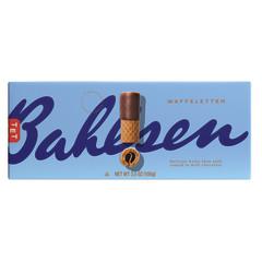 BAHLSEN WAFFELETTEN MILK CHOCOLATE WAFER ROLLS 3.5 OZ