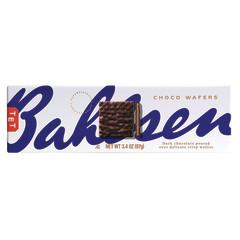 BAHLSEN DARK CHOCOLATE WAFERS 4.6 OZ BOX