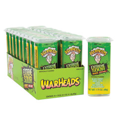 WARHEADS EXTREME SOUR JUNIORS HARD CANDY 1.75 OZ