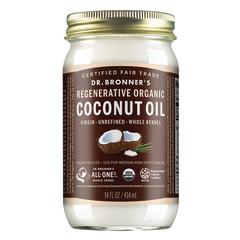 DR. BRONNER'S WHOLE KERNEL COCONUT OIL 14 OZ JAR