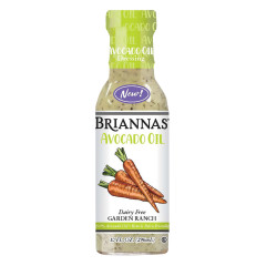BRIANNAS DAIRY FREE RANCH WITH AVOCADO OIL 10 OZ BOTTLE