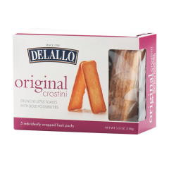 DELALLO ORIGINAL CROSTINI 3.5 OZ BOX