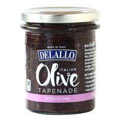 DELALLO BLACK OLIVE TAPENADE 6.7 OZ JAR