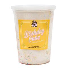 COUNTY FAIR BIRTHDAY CAKE COTTON CANDY TUB