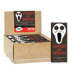 CLEVER CANDY COOKIES & SCREAM 1.75 OZ BAR
