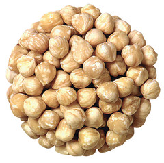 FILBERTS BLANCHED ROASTED UNSALTED 22.06 LB CS