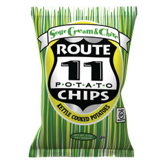 ROUTE 11 SOUR CREAM AND CHIVE CHIPS 2 OZ BAG