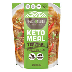 MIRACLE NOODLE KETO TERIYAKI MEAL 9.2 OZ POUCH