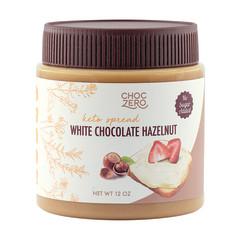 CHOCZERO WHITE CHOCOLATE HAZELNUT SPREAD 12 OZ JAR
