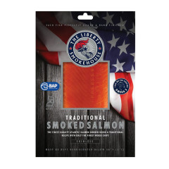 LIBERTY SMOKEHOUSE COLD SMOKED SALMON 4 OZ