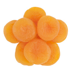 GLACE APRICOTS LARGE .046 LBS