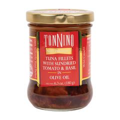 TONNINO TUNA WITH SUNDRIED TOMATO & BASIL 6.3 OZ JAR