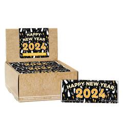 AMUSEMINTS NEW YEAR 2021 MILK CHOCOLATE 1.75 OZ BAR