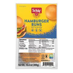 SCHAR GLUTEN FREE HAMBURGER BUNS 10.6 OZ BAG