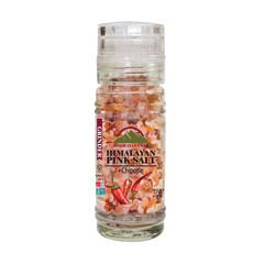 HIMALAYAN CHEF HIMALAYAN PINK SALT AND CHIPOTLE 3.53 OZ GRINDER