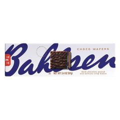 BAHLSEN DARK CHOCOLATE CHOCO WAFERS 3.4 OZ BOX