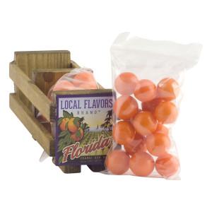 Wooden Orange Gum Crate Fl Dc Only