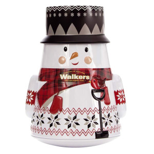 Walkers Shortbread Snowman 7 Oz Tin