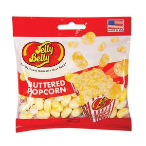 Jelly Belly Buttered Popcorn Jelly Beans 3 5 Oz Bag