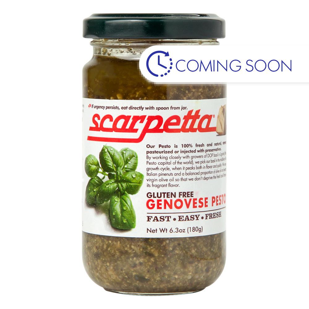 Scarpetta Genovese Pesto Sauce 6 25 Oz Jar
