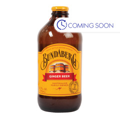 BUNDABERG GINGER BEER SODA 4 PACK 12.7 OZ BOTTLE