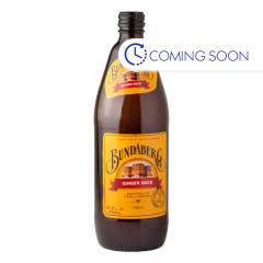 BUNDABERG GINGER BEER SODA 25.3 OZ BOTTLE