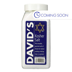 DAVID'S KOSHER SALT 40 OZ JUG