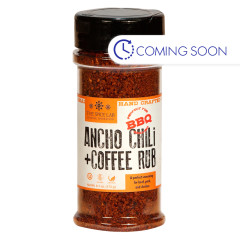 SPICE LAB ANCHO CHILI & COFFEE RUB 5.5 OZ JAR