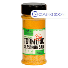SPICE LAB ORIGINAL TURMERIC SEASONING SALT 6.7 OZ JAR
