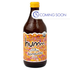 HUMM MANGO PASSIONFRUIT KOMBUCHA 14 OZ BOTTLE