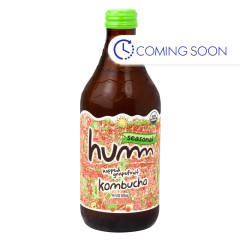 HUMM HOPPED GRAPEFRUIT KOMBUCHA 14 OZ BOTTLE